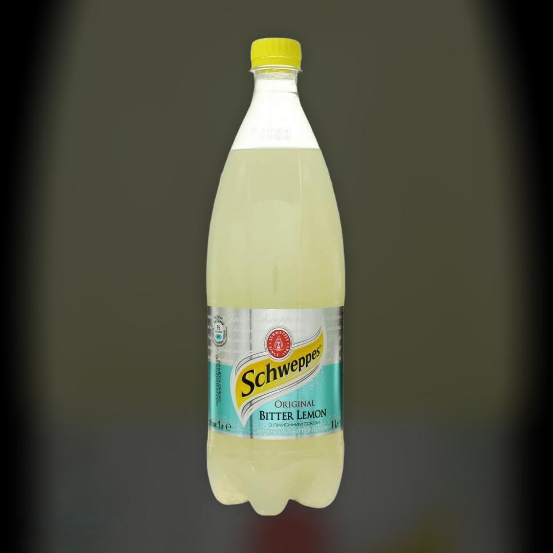 Безалкогольний напій Schweppes Bitter Lemon 1 л