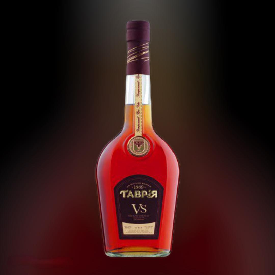 Бренді Tavria V.S. 40% 0,5 л