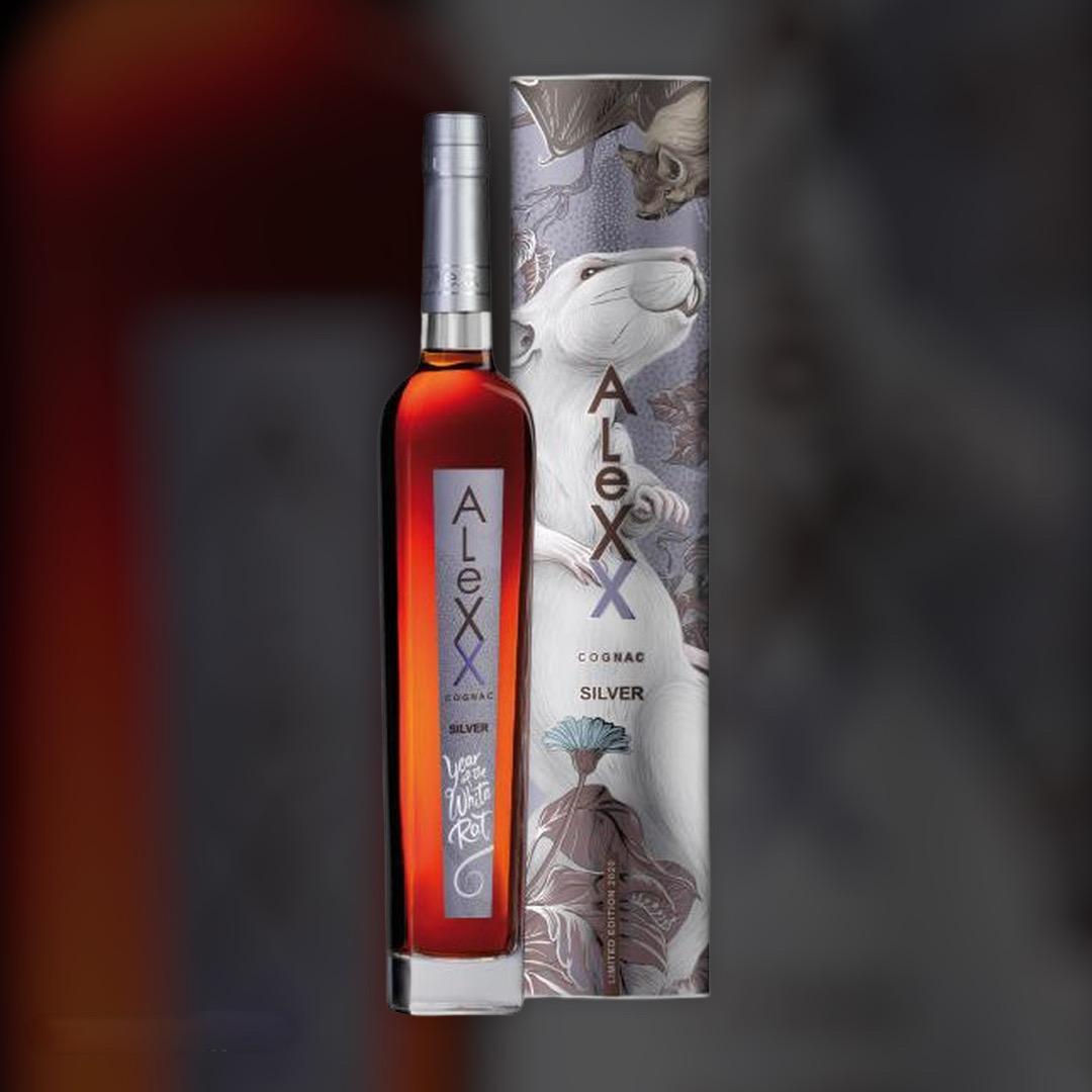 Бренді Таврія AleXX Silver в подарунковій упаковці 40% 0,5 л