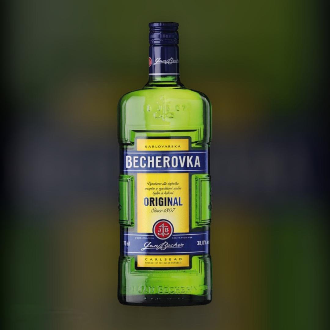 Лікерна настоянка на травах Becherovka 38% 0,7 л