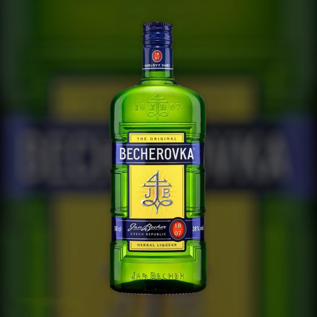 Лікерна настоянка на травах Becherovka 38% 0,5 л