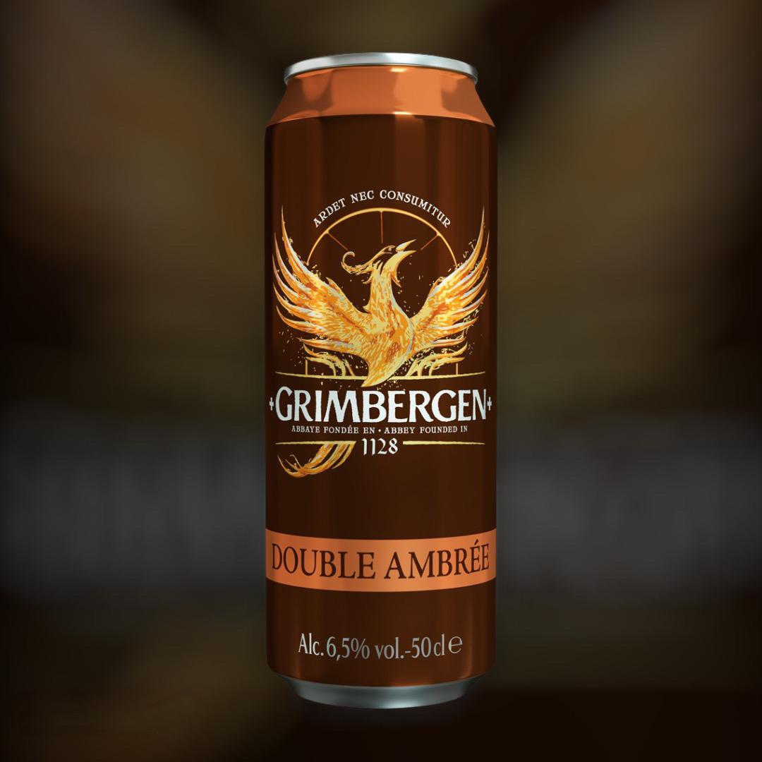 Пиво Grimbergen Double Ambree напівтемне фільтроване 6.5% 0,5 л