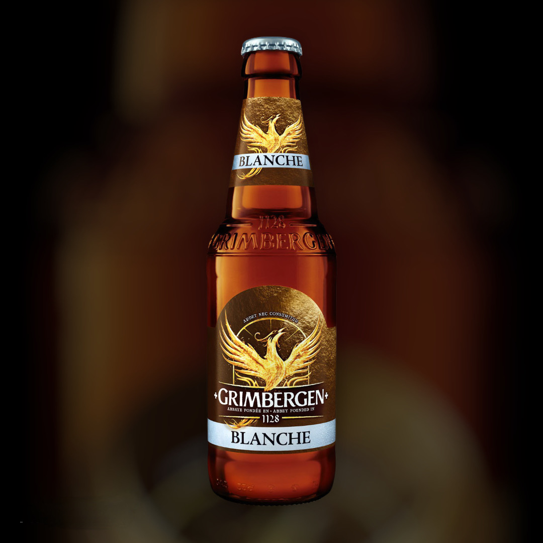 Пиво Grimbergen Blanche світле нефільтроване 6% 0,33 л