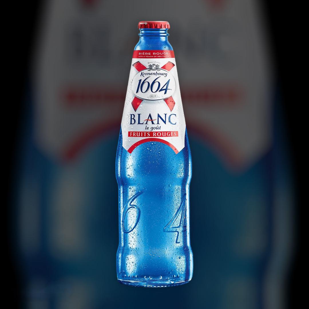 Пиво Kronenbourg 1664 Blanc світле нефільтроване 4.5% 0,5 л