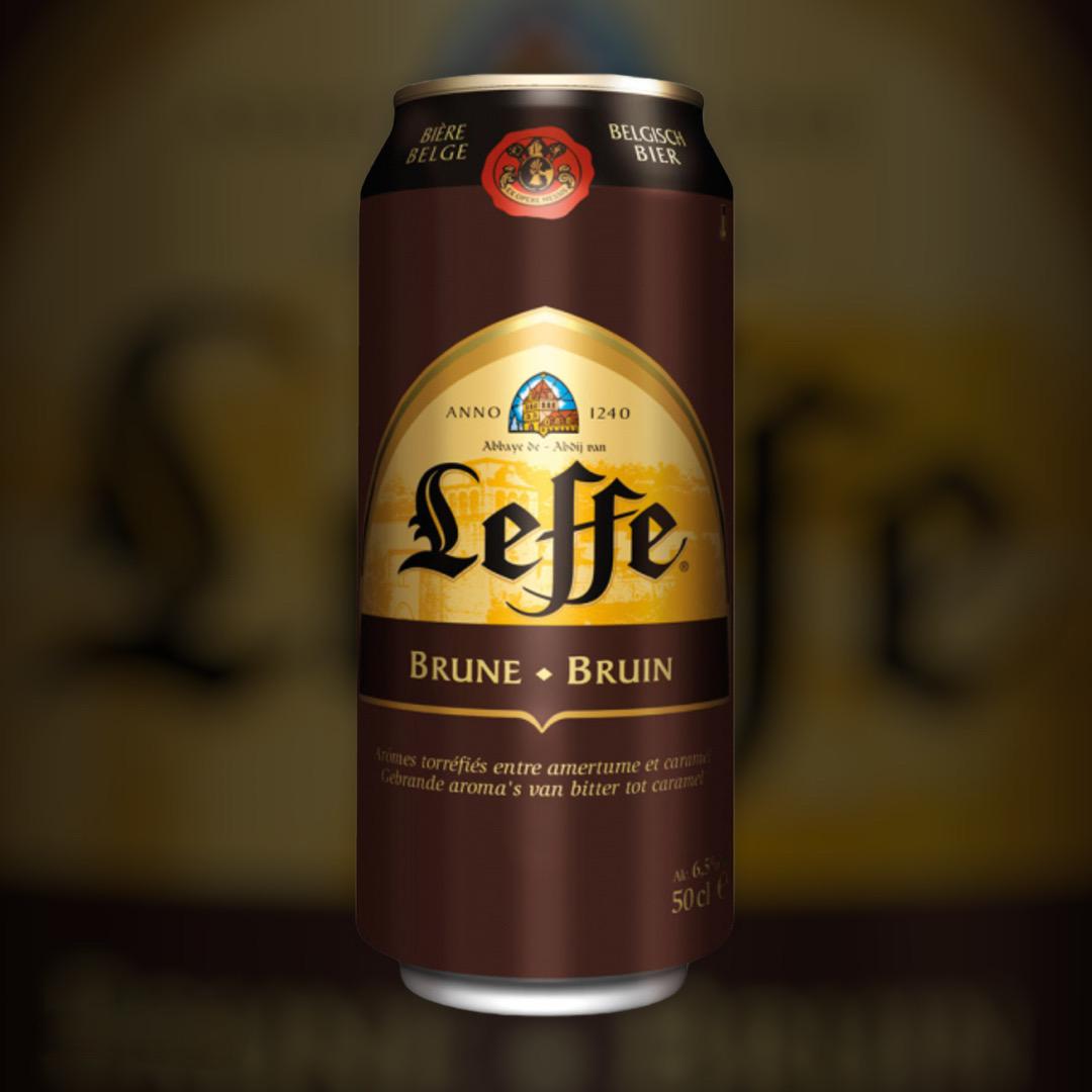 Пиво Leffe Brune темне фільтроване 6.5% 0,5 л
