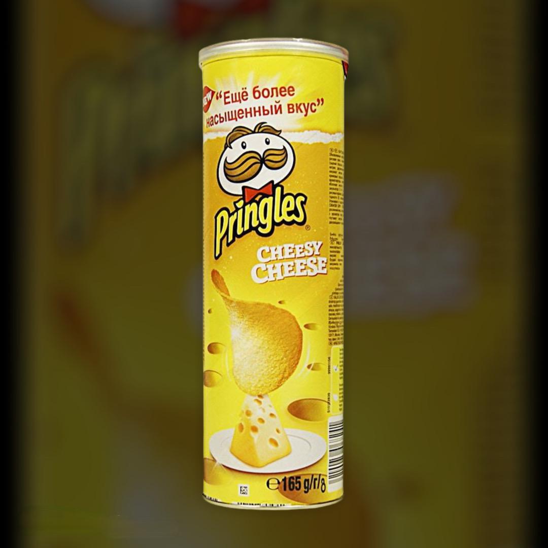Чіпси Прінглс з сиром 165 г