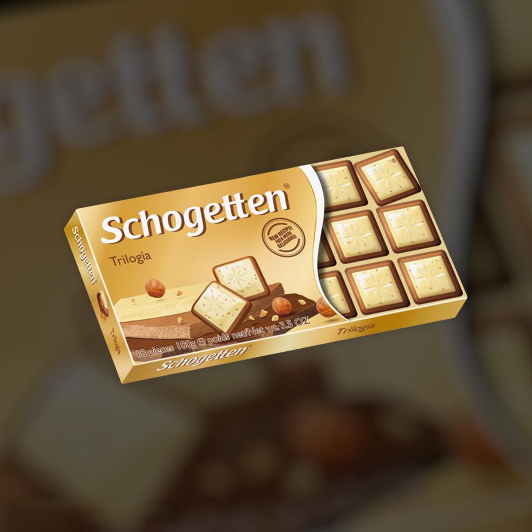 Шоколад Schogetten Trilogia 100г