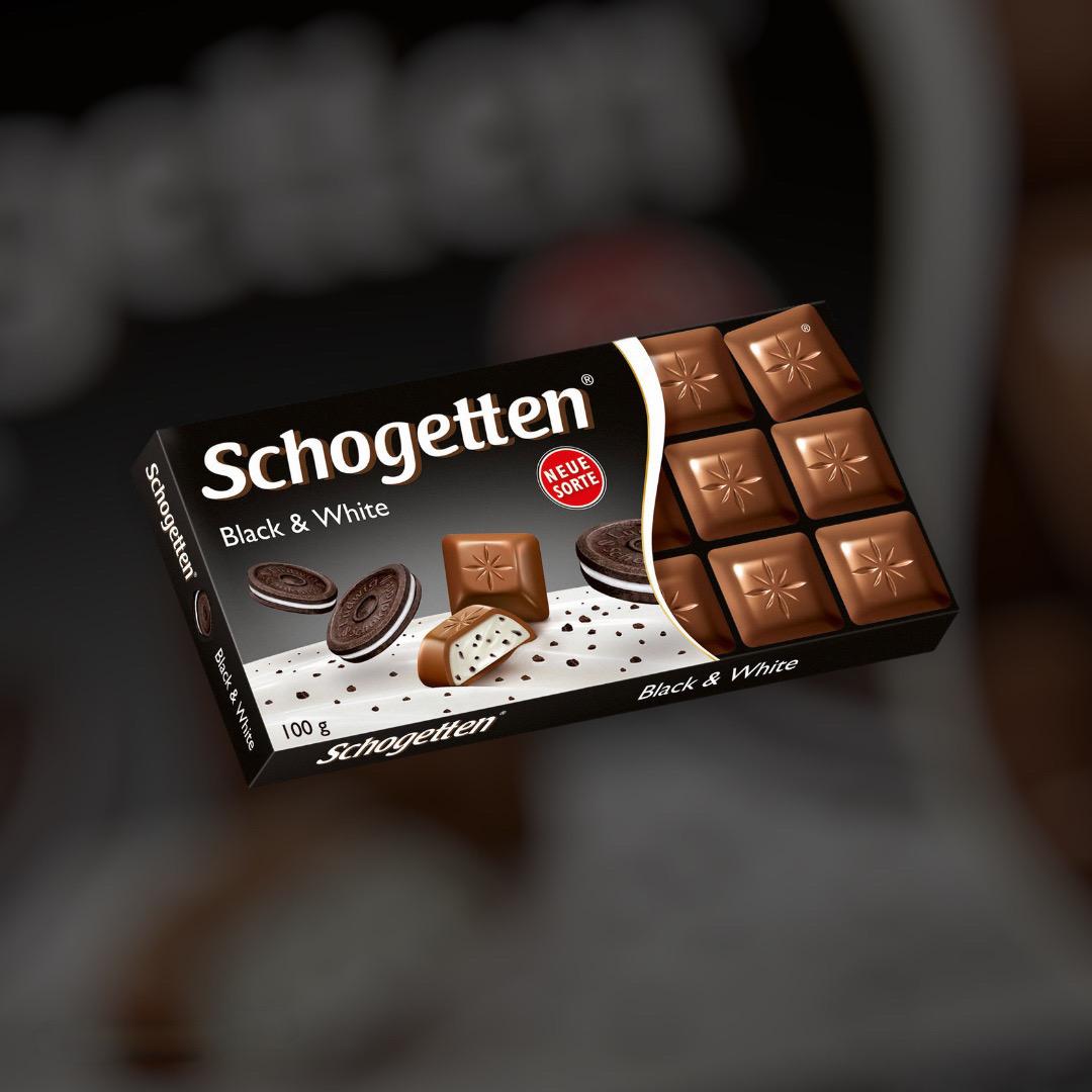 Шоколад Schogetten Black White 100г
