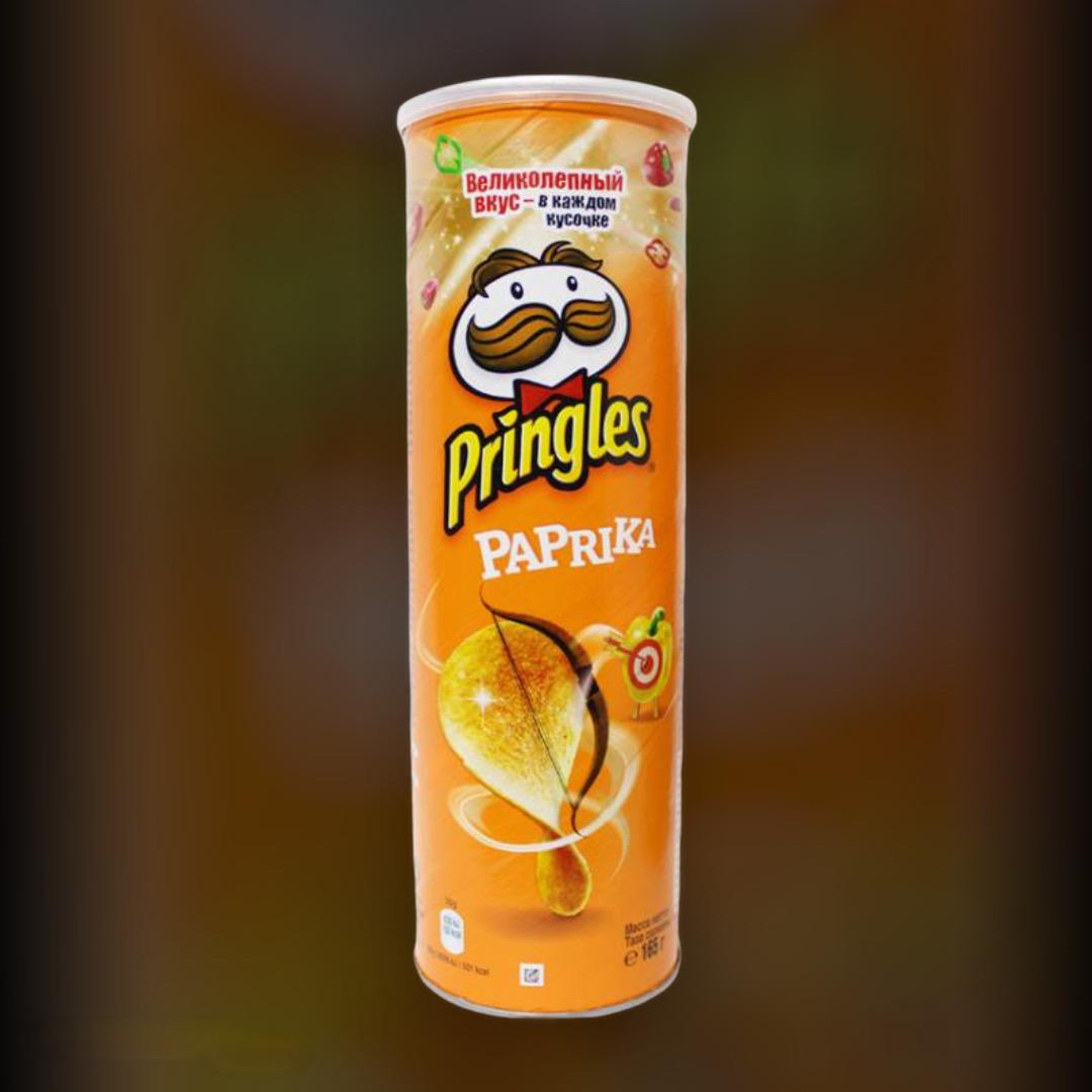 Чіпси Pringles Paprika 165 г