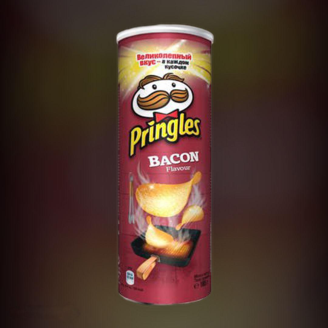 Чіпси Pringles Бекон 165 г