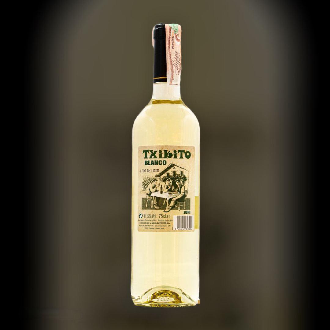 Вино Txikito Лірен біле сухе 11,5% Іспанія 0,75 л