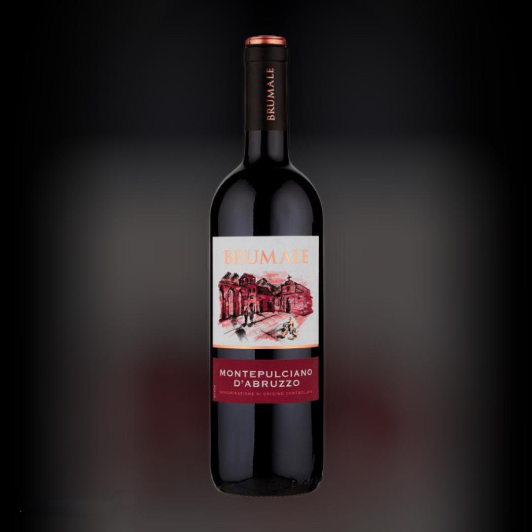Вино Brumale Монтепунчіано дАбруццо червоне сухе 13% Італія 0,75 л