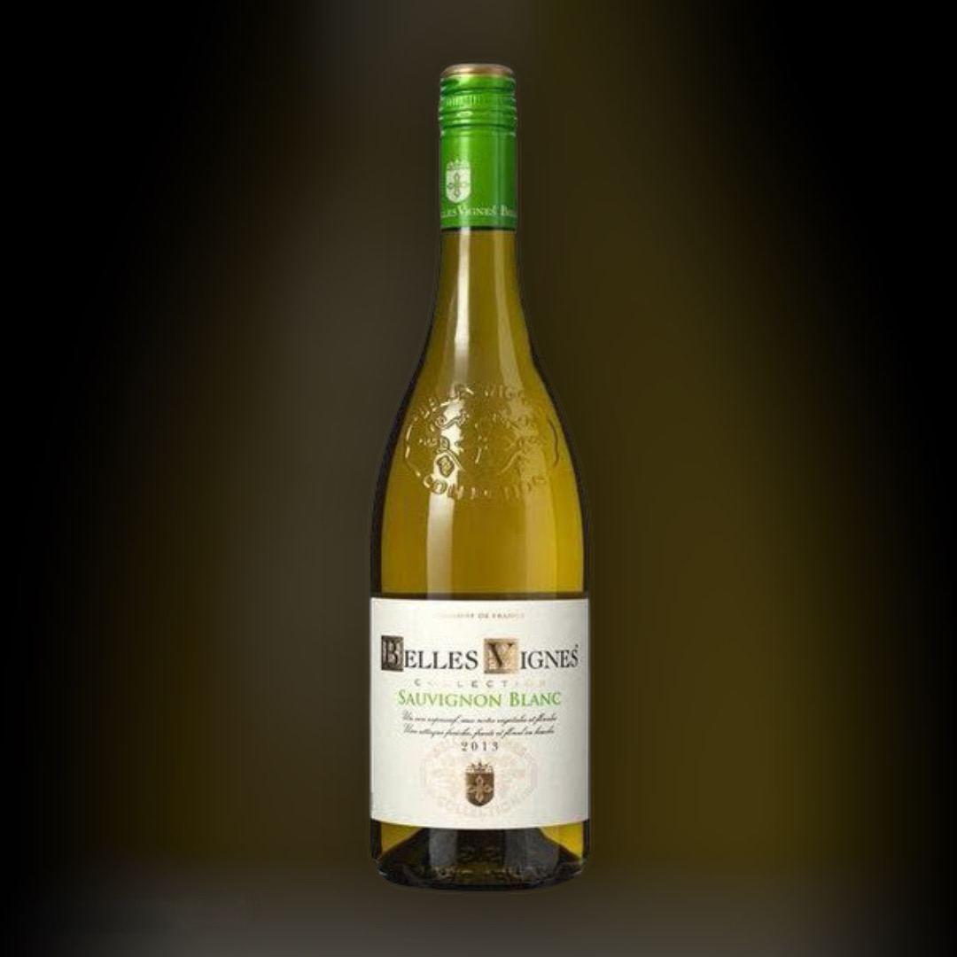 Вино Belles Vignes Sauvignon Blanc біле сухе 11.5% Франція 0,75 л