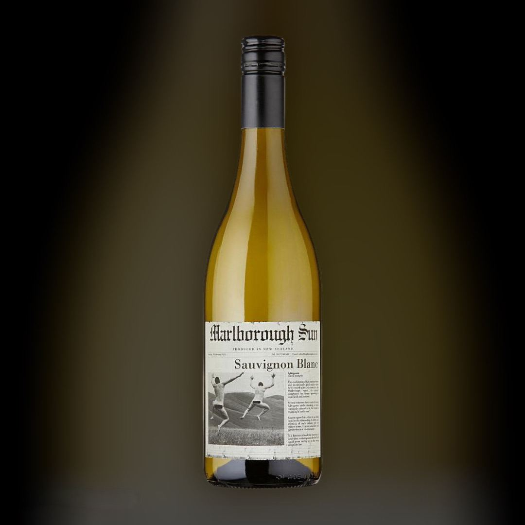 Вино Marlborough Sun Sauvignon Blanc 2019 біле сухе 13% Нова Зеландія 0,75 л