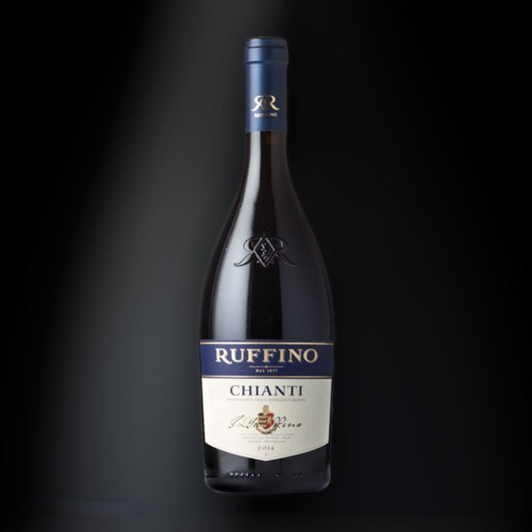 Вино Chianti Ruffino, червоне сухе 13% Італія 0,75 л