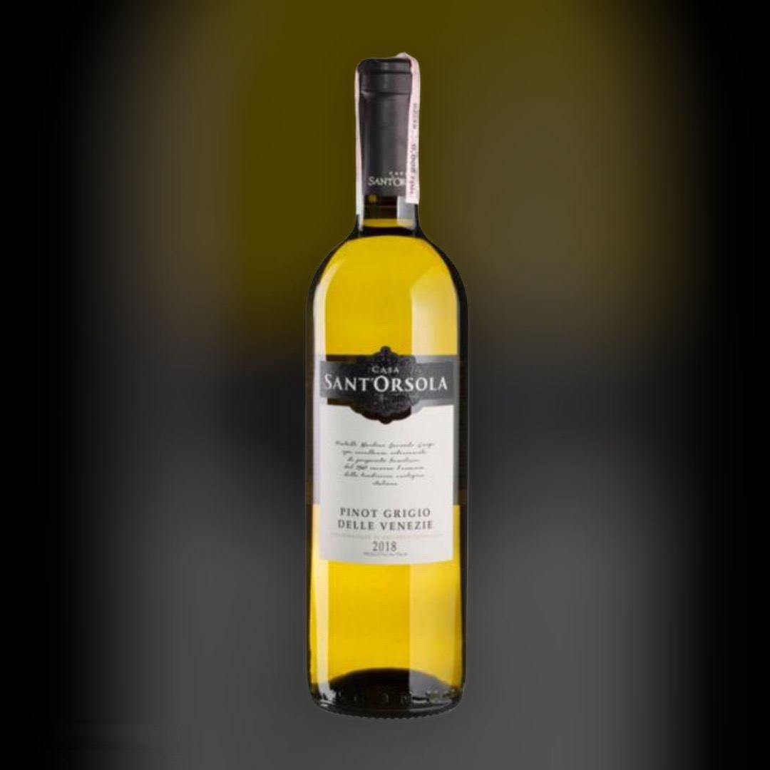 Вино Sant'Orsola Pinot Grigio біле сухе 11% Італія 0,75