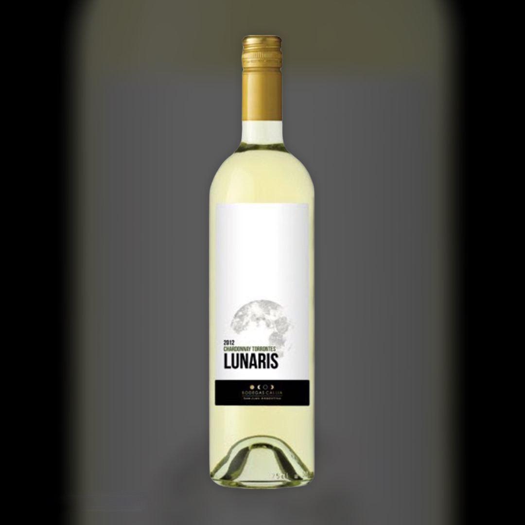 Вино Lunaris Callia Chardonnay Torrontes біле сухе 13% 0,75 л
