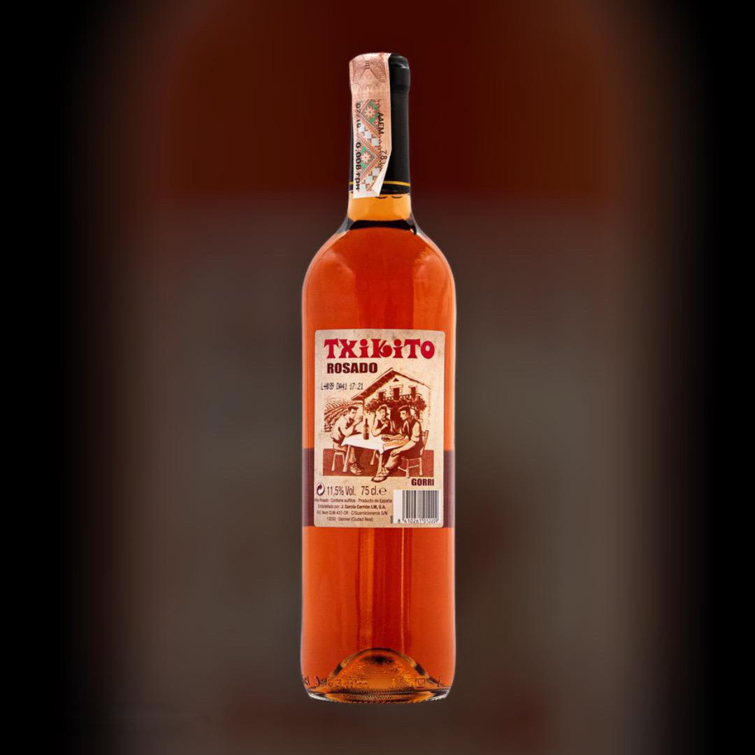 Вино Txikito Rose рожеве сухе 11,5% Іспанія 0,75 л