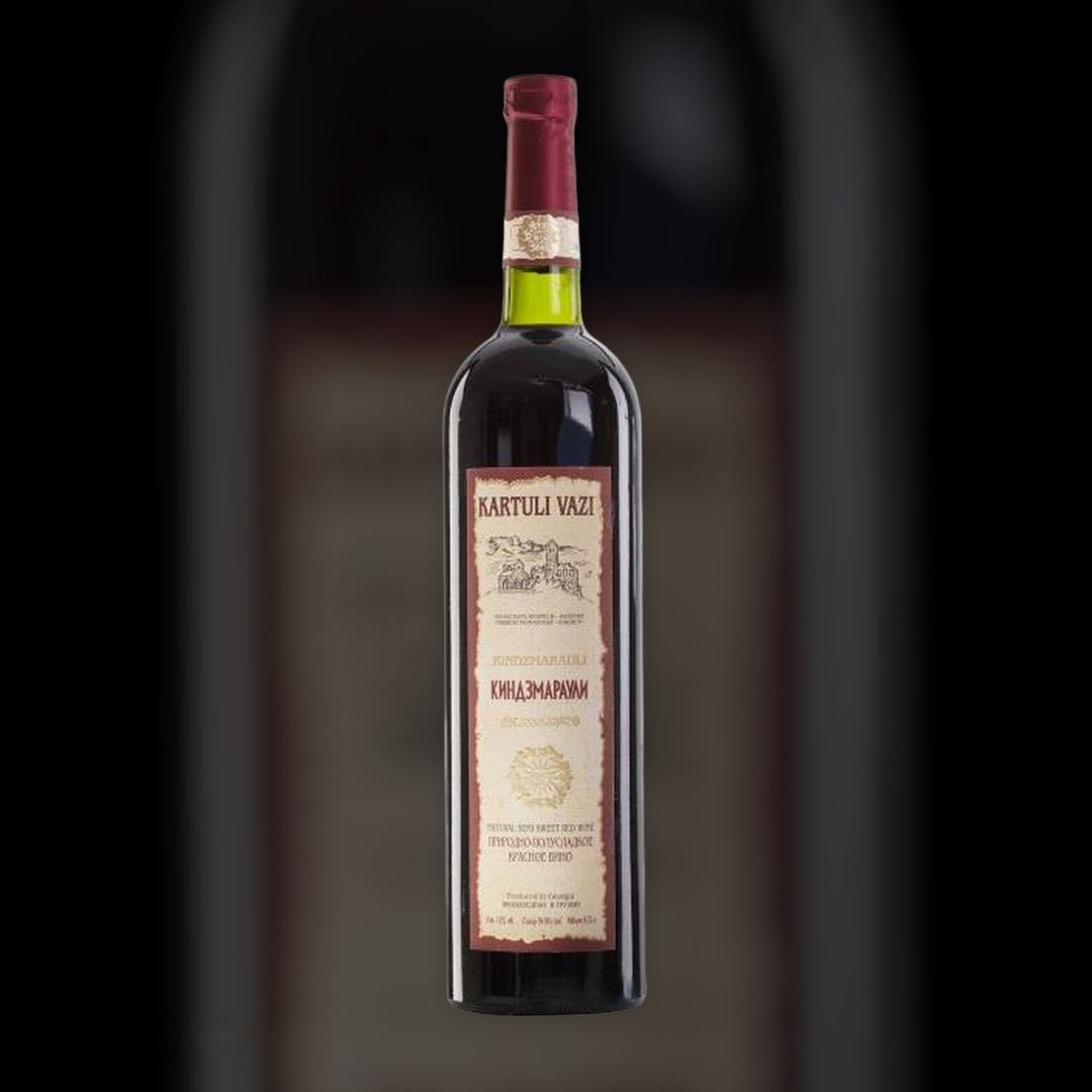 Вино Kartuli Vazi Кіндзмараулі червоне напівсолодке 11% Грузія 0,75 л
