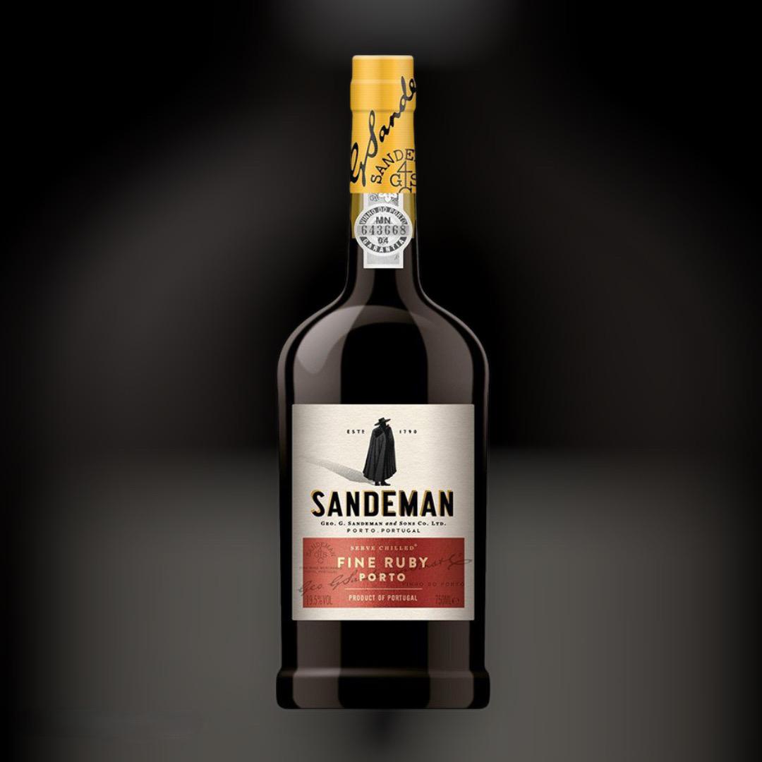 Портвейн Sandeman Porto Ruby 19,5% Португалія 0,75 л