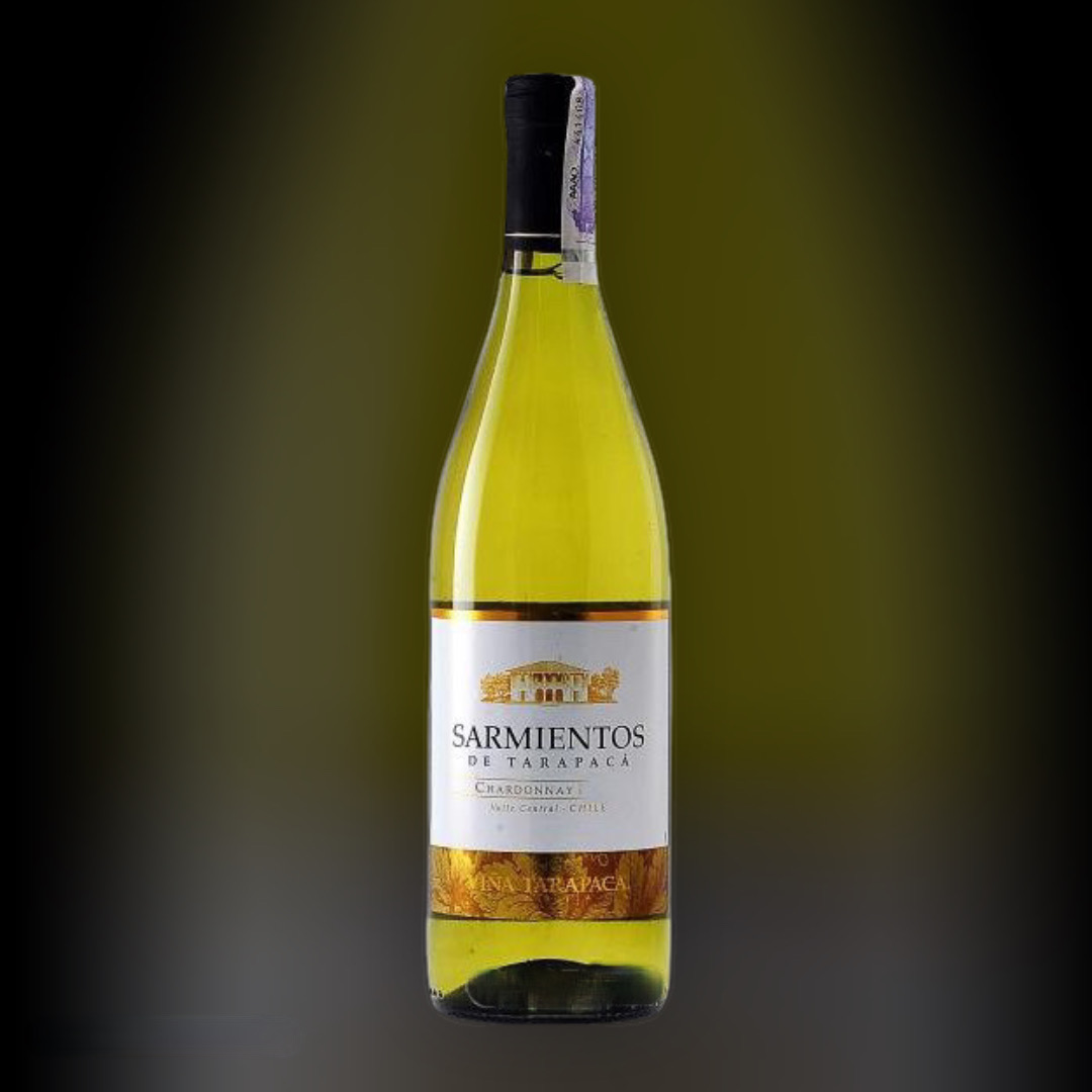 Вино Tarapaca Sarmientos Chardonnay 13% Чилі 0,75 л