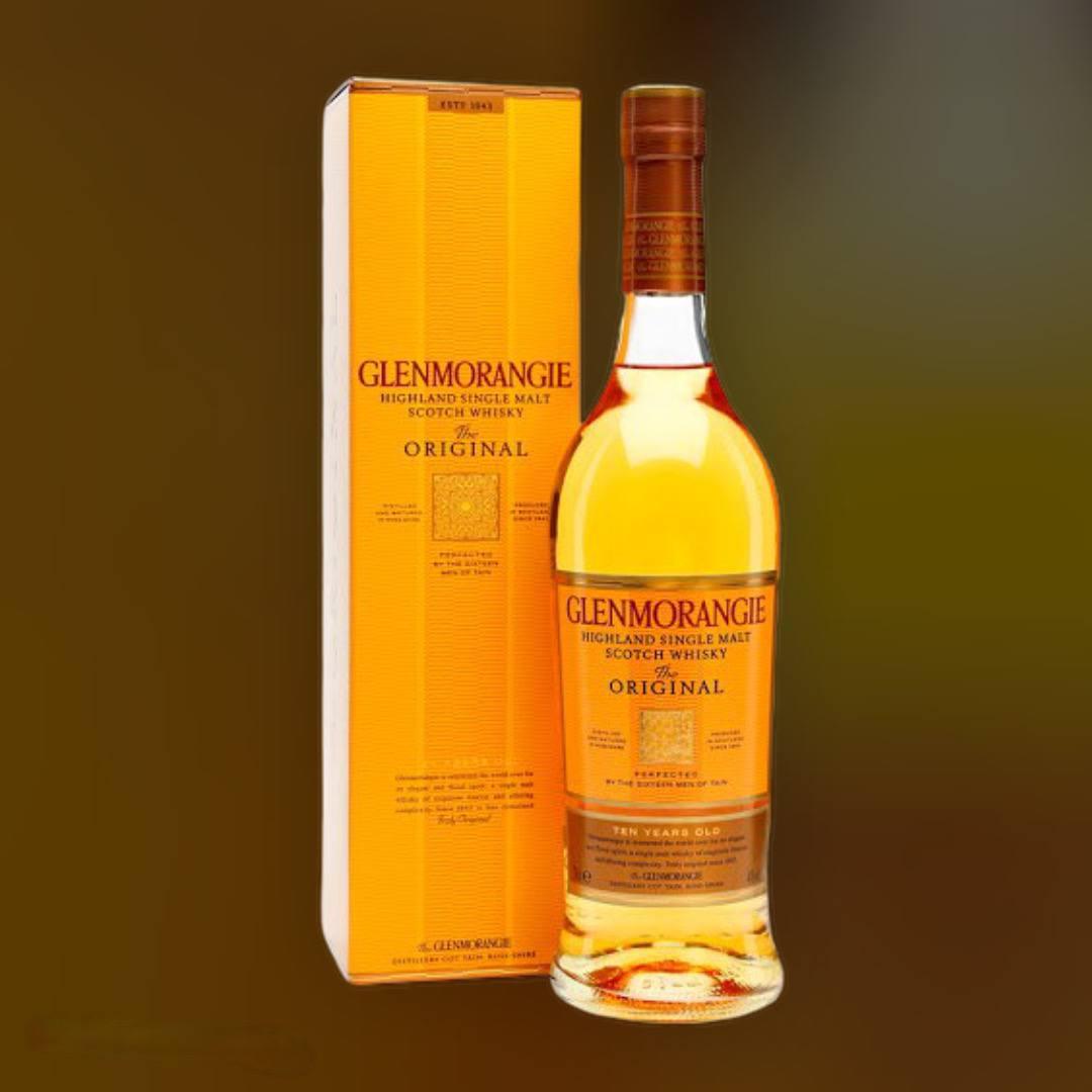 Віскі односолодовий Glenmorangie Original 10 років витримки 40% в подарунковій упаковці 0,7 л