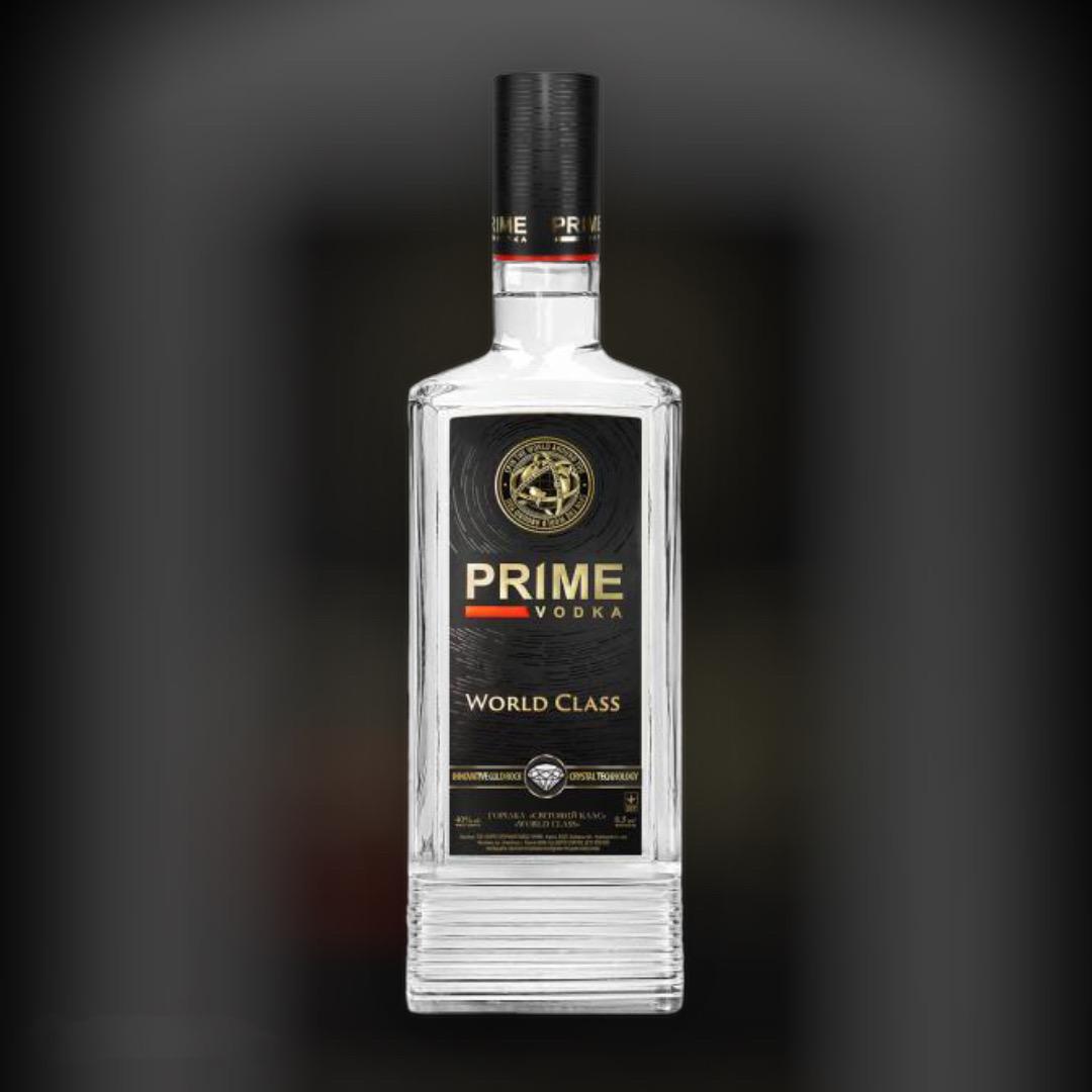 Горілка Prime World Class 40% 0,5 л